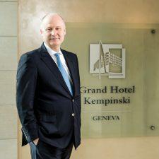 Thierry Lavalley, el Éxito del Gran Hotel Kempinski Ginebra