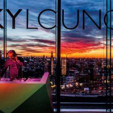 Skylounge Ámsterdam, festivo y tendencia
